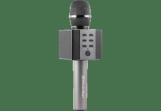 TECHNAXX MusicMan BT-X45 Karaoke Mikrofon, Schwarz