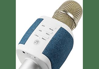 TECHNAXX MusicMan Fabric BT-X44 Mikrofon Blau