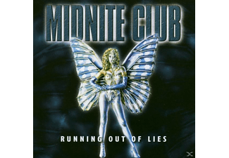 Midnite Club - RUNNING OUT OF LIES  - (CD)