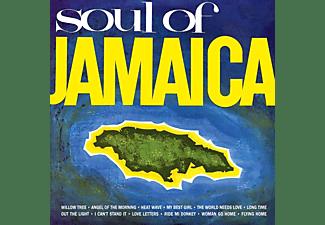 VARIOUS - SOUL OF JAMAICA -CLRD-  - (Vinyl)