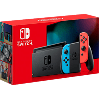 NINTENDO UE Switch Neonrot/blau (neue Edition)