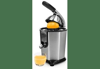Exprimidor - Princess 201977, 160 W, Apto lavavajillas, Base antideslizante, Antigoteo, 120 rpm, Inox