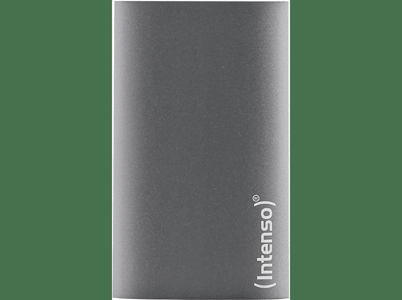 INTENSO Premium Edition, 256 GB SSD, 1.8 Zoll, extern, Anthrazit