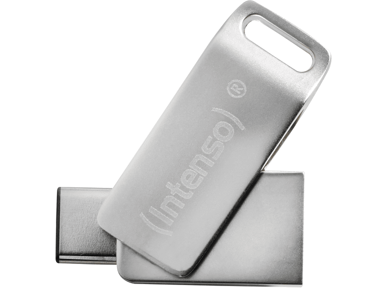 INTENSO CMOBILE LINE USB-Stick, 64 GB, 70 MB s, Silber