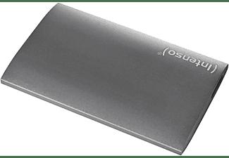 INTENSO Premium Edition, 256 GB SSD, 1,8 Zoll, extern, Anthrazit