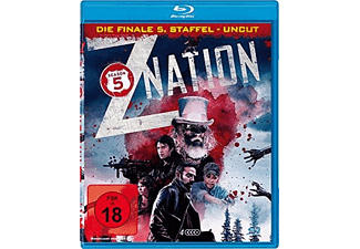 Z Nation-Staffel 5 (4 DVDS Uncut-Edition) Blu-ray