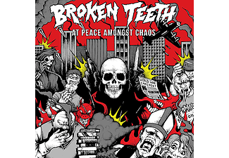 Broken Teeth Hc - At Peace Amongst Chaos (CD)