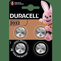 DURACELL 119376 DU LITHIUM CR2032 B4 CR2032 Knopfzelle 4 Stück
