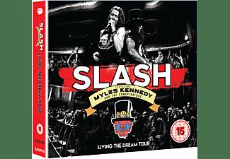 Slash, Myles Kennedy, The Conspirators - Living The Dream Tour (2CD+DVD)  - (CD + DVD Video)