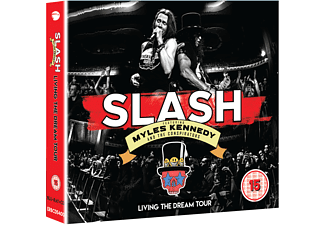 Myles Kennedy, The Conspirators, Slash - Living The Dream Tour (2CD+Blu-Ray)  - (CD + Blu-ray Disc)