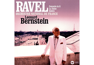 Leonard/onf Bernstein - Concerto in G/La Valse/Bolero  - (Vinyl)