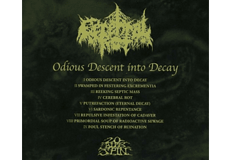 Cerebral Rot - Odious Descent Into Decay  - (CD)