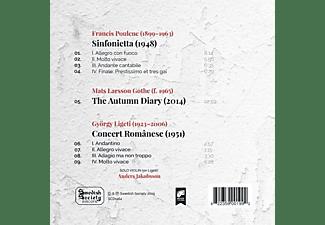 Daniel Blendulf, Dalasinfoniettam, Anders Jakobsson - Sinfonietta/The Autumm Diary/Concert Romanese  - (CD)