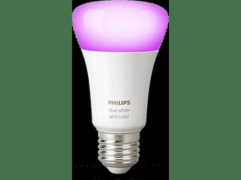 PHILIPS HUE Bluetooth Ledlamp wit en gekleurd licht E27 (67310900)