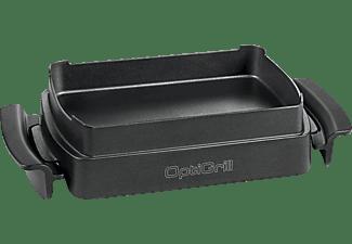 TEFAL XA7258 OptiGrill Snacking & Baking Backschale Edelstahl/Schwarz