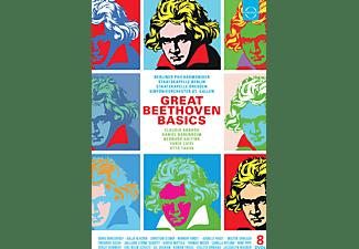 Kolja Blacher, Boris Berezovsky, Berliner Philharmoniker, Staatskapelle Dresden, Sinfonieorchester St. Gallen, Opernchor St. Gallen, Staatskapelle Berlin, Juilliard String Quartet, Chor Der Staatsoper Dresden - Great Beethoven Basics  - (DVD)