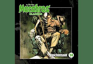Dan Shocker - Macabros Classics Knochensaat Folge 14  - (CD)