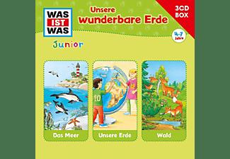 Was Ist Was - Was Ist Was Junior-3-CD Hörspielbox Vol.2 Erde  - (CD)