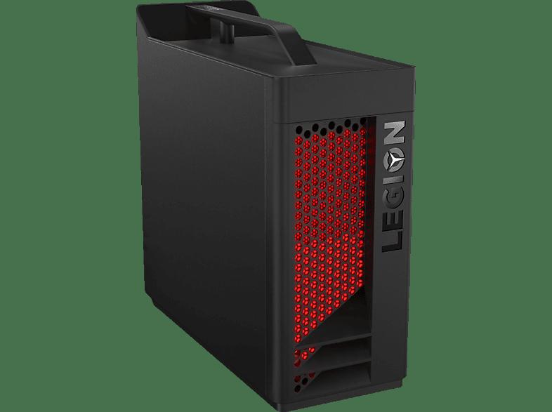 LENOVO Legion T530, Gaming PC mit Core i7 Prozessor, 16 GB RAM, 256 GB SSD, 1 TB HDD, GeForce RTX 2070, 8 GB