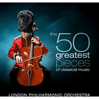 David Parry, The London Philharmonic Orchestra - The 50 Greatest Pieces of Classical Music [CD]