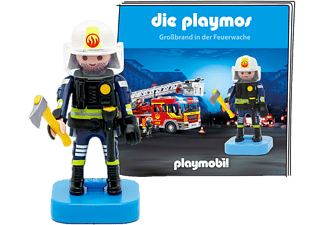 TONIES Die Playmos - Grossbrand in der Feuerwache - Figura audio /D (Multicolore)
