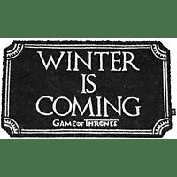 SD DISTRIBUCIONES Game of Thrones Fußmatte Winter Is Coming Fußmatte, Mehrfarbig