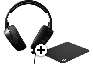 STEELSERIES Headset Arctis 1 Black μαζί με mousepad QCK mini
