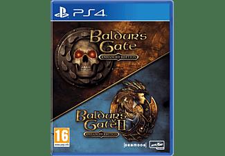Baldur's Gate 1 + 2  Enhanced Edition NL/FR PS4
