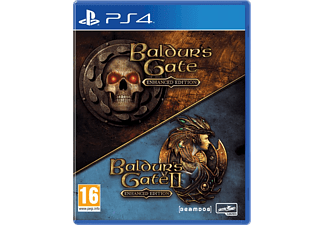 Baldur's Gate 1 + 2  Enhanced Edition NL/FR PS4