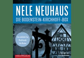 NEUHAUS NELE, NACHTMANN JULIA - Die Bodenstein-Kirchhoff-Box  - (MP3-CD)