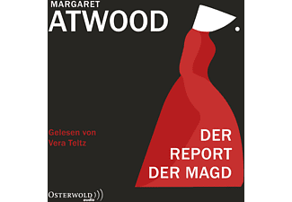 RETTINGHAUS CHARLES, TELTZ VERA - Der Report der Magd  - (MP3-CD)