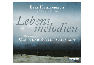 HEIDENREICH ELKE - Lebensmelodien: Eine Hommage an Clara und Robert Schumann  - (CD)