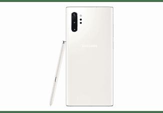 "Móvil - Samsung Galaxy Note 10 +, Blanco, 256 GB, 12 GB RAM, 6.8"" WQHD+, Exynos 9825, 4300 mAh, Android"