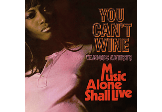 VARIOUS - You Can't Wine/Music Alone Shall Live  - (CD)