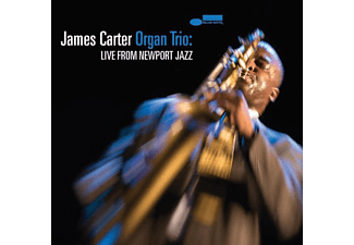 The James Carter - The James Carter Organ Trio: Live From Newport Jazz CD