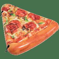 """BAUER INTERNATIONAL Lounge """"Pizza Slice"""", 175x145cm Luftmatratze, Braun"""