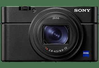SONY Cyber-shot DSC-RX100 VII Zeiss NFC Digitalkamera Schwarz, 8x opt. Zoom, Xtra Fine/TFT-LCD, WLAN