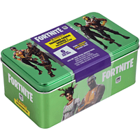 PANINI Fortnite Mega Collectors Tin Dose mit 6 Booster + 1 Epic Card Sammelkarten, Mehrfarbig