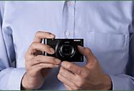 SONY Cyber-shot DSC-RX100 I Zeiss Digitalkamera Schwarz, 20.2 Megapixel, 3.6x opt. Zoom, Xtra Fine/TFT-LCD