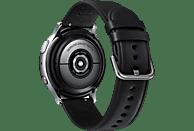 SAMSUNG  Galaxy Watch Active2 Stainless Steel 40mm (LTE) SI Smartwatch Edelstahl, Echtleder, S/M, Silver