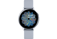 SAMSUNG Galaxy Watch Active2 Aluminium 44mm CS Smartwatch Aluminium Fluorkautschuk, M/L, Cloud Silver