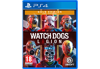 Watch Dogs Legion Gold Edition FR/NL PS4
