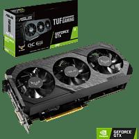 ASUS GeForce® GTX 1660 TUF Gaming OC 6GB (90YV0D15-M0NA00) (NVIDIA, Gaming-Grafikkarte)