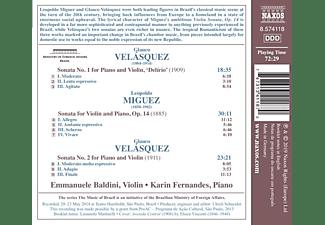 Karin Fernandes, Emmanuele Baldini - Sonaten für Violine und Klaiver  - (CD)