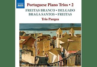 Trio Pangea - Portugiesische Klaviertrios Vol.2  - (CD)