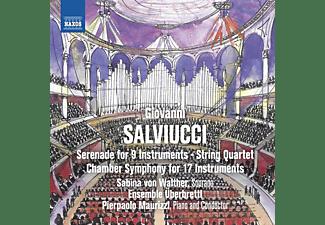 Sabina Von Walther, Ensemble Überbrettl, Pierpaolo Maurizzi - Serenade for 9 Instruments/String Quartet/  - (CD)