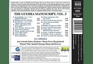José Antonio López, Manuel Vilas, Ars Atlantica - The Guerra Manuscript Vol.5  - (CD)