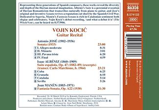 Vojin Kocic - Gitarrenmusik  - (CD)