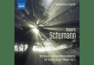 Klavierduo Eckerle - Orchester-und Kammermusikwerke für Klavier  - (CD)