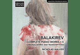Nicholas Walker - Klavierwerke Vol.5  - (CD)